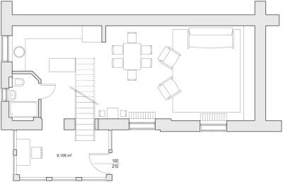 Kicsi Ház tervezett alaprajz