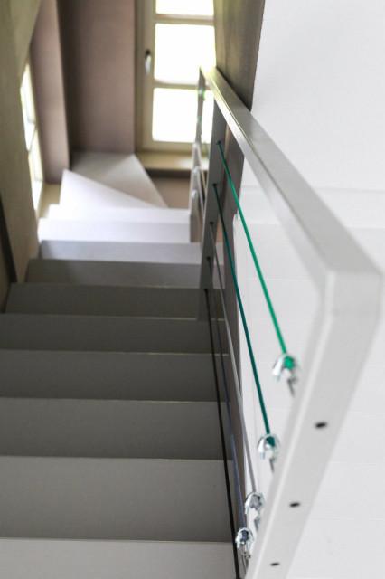 Lépcsőház átalakítva
