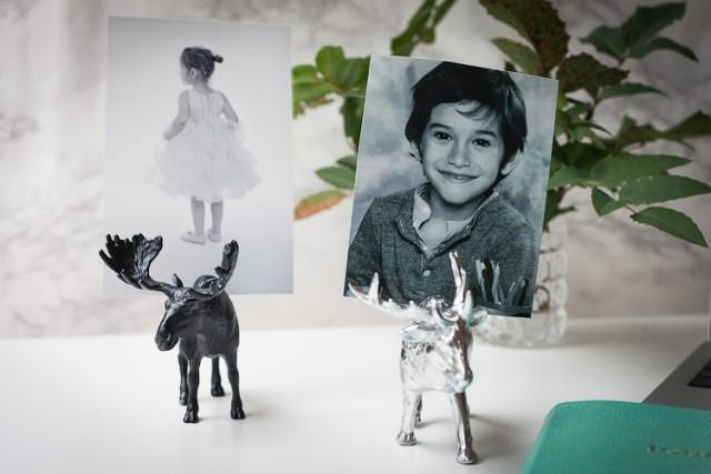 DIY állatos képtartó / Kicsiház