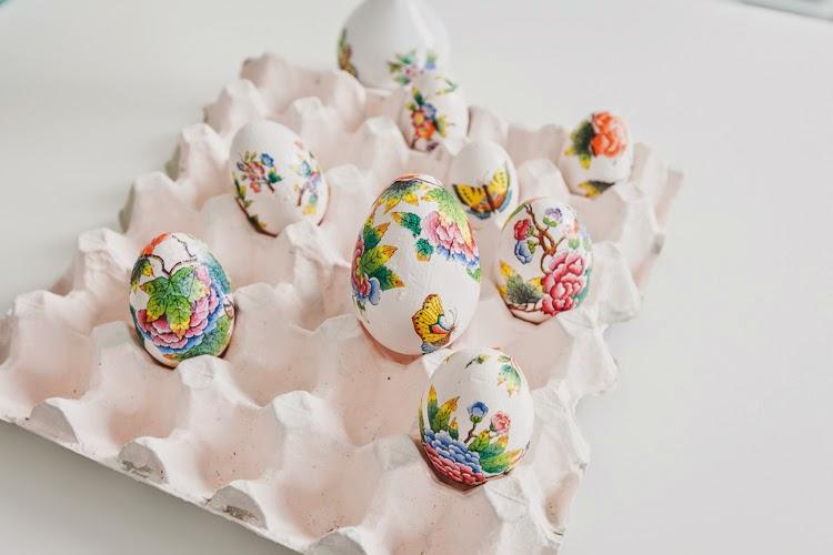 DIY Herendi tojás Húsvétra / Kicsiház