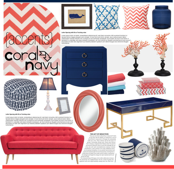 {coral+navy}