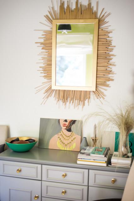 Ó, az a tükör! Természetesen DIY!