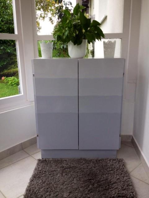 Viki színátmenetes szekrénye