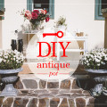 diy antique pot