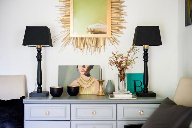 DIY asztali lámpa / Kicsiház