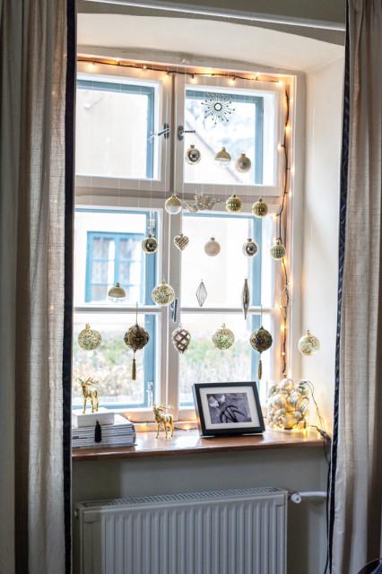 ablakdíszítés karácsonyra