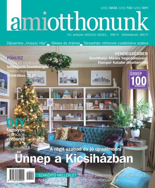 A Mi Otthonunk decemberi címlap