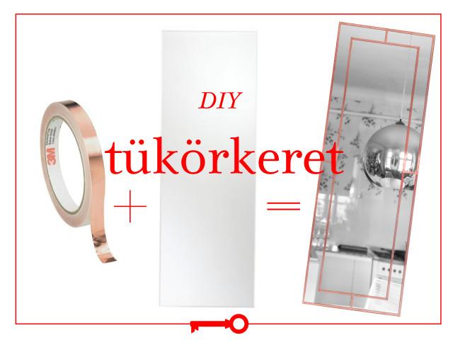 DIY tükörkeret / Kicsiház