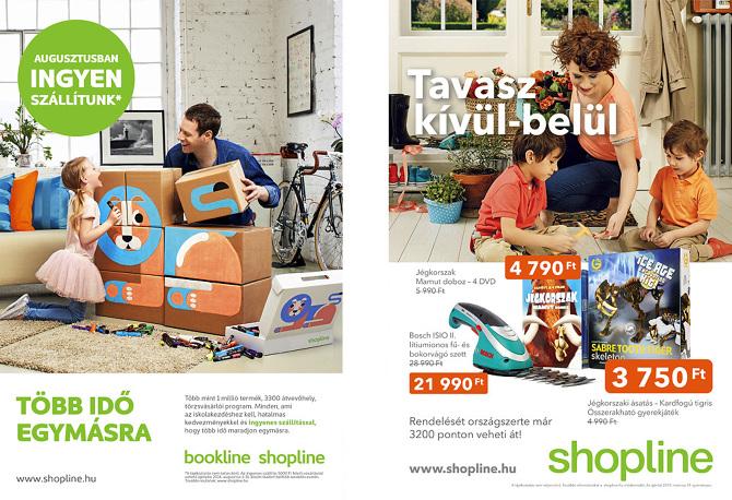 Shopline kampány 2014 tavasz-nyár