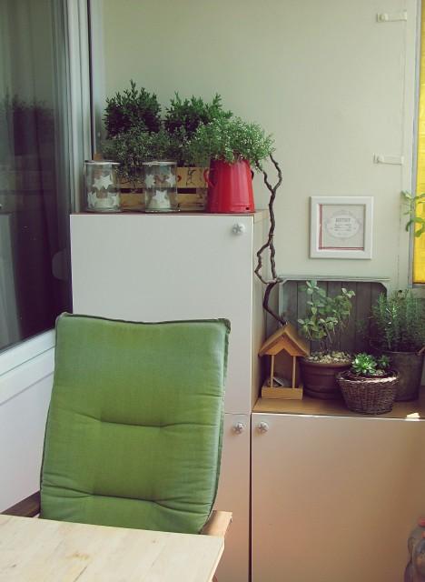 Panel terasz ízlésesen / Kicsiház