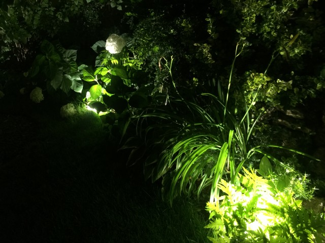 Kerti világítás /Kicsiház