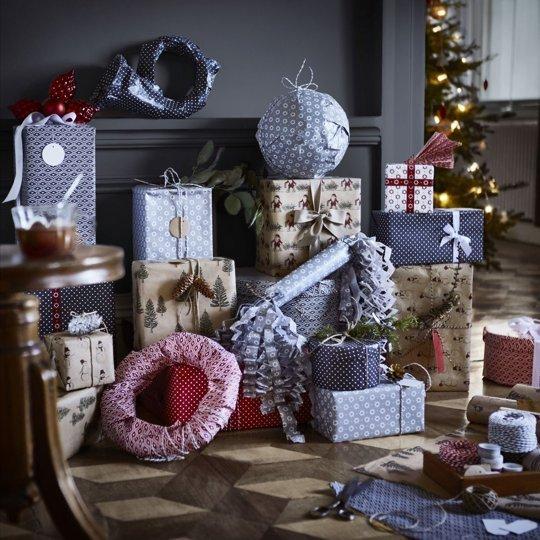 Karácsonyi dekoráció az IKEÁ-ból / Kicsiház