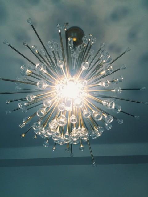 DIY IKEA HACK SPUTNIK LAMP / Kicsiház