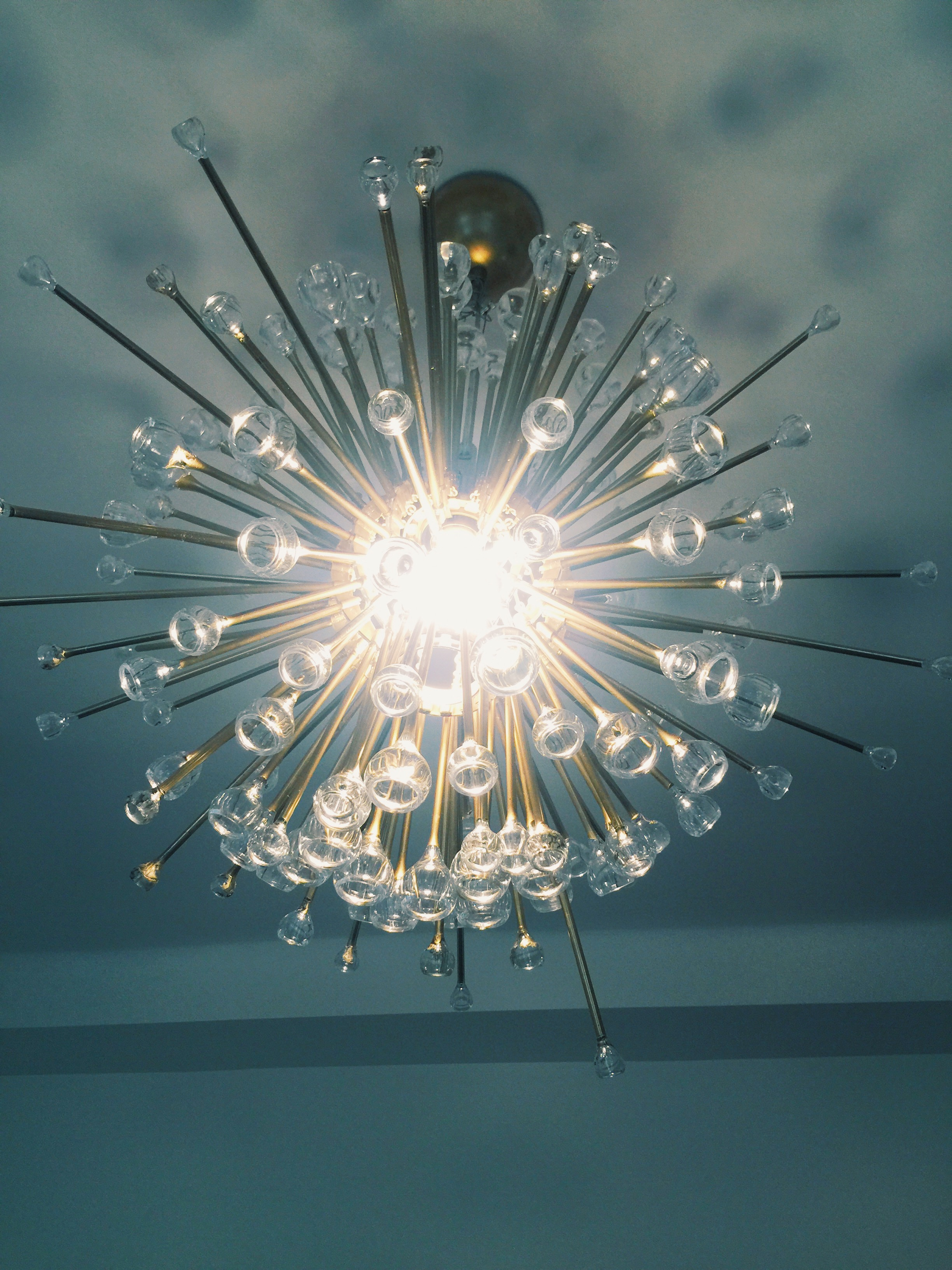 DIY sputnik lámpa Kicsi Ház