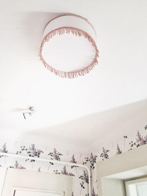 Ikea lámpa tuning / Kicsiház
