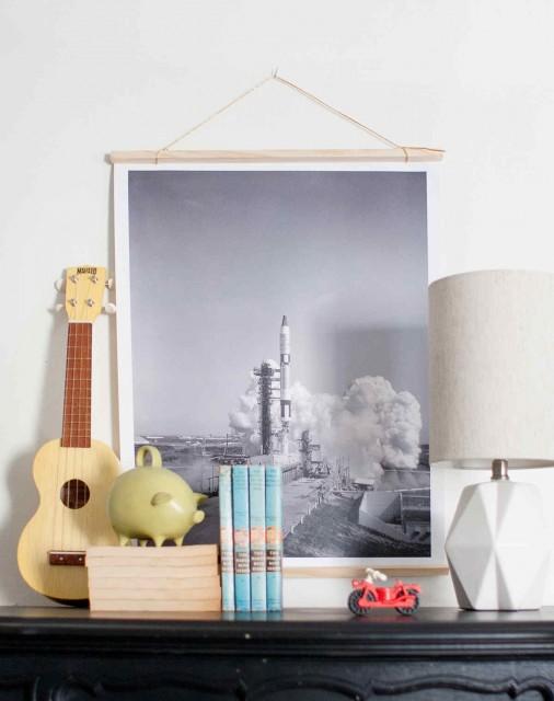 Így dekorálj képekkel a gyerekszobában
