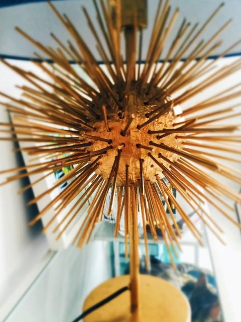 IKEA hack napsugaras lámpa DIY / Kicsiház
