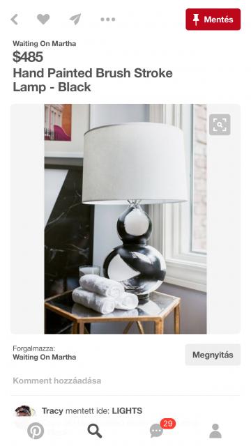Dizájner asztali lámpa DIY-verzióban / Kicsiház