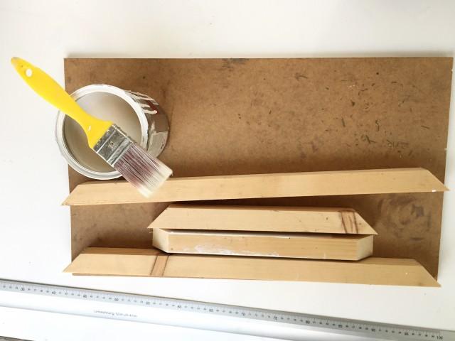 Dekupázsolt DIY tálca / Kicsiház