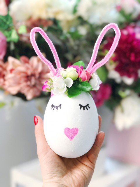 Nyuszis húsvéti dekoráció / Kicsiház