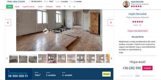 Okos bővítmény ingatlankereséshez / Kicsiház