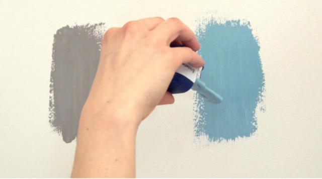 Festés előtt színminta