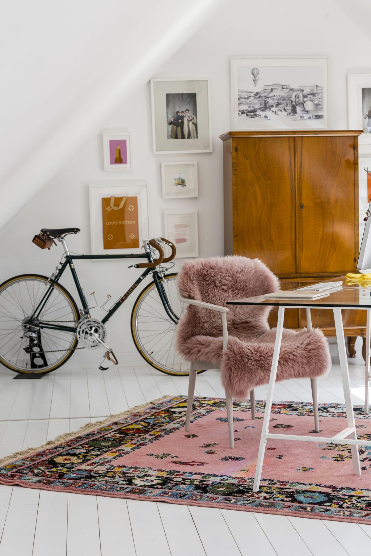 Eklektikus tetőtér / Kicisház blog
