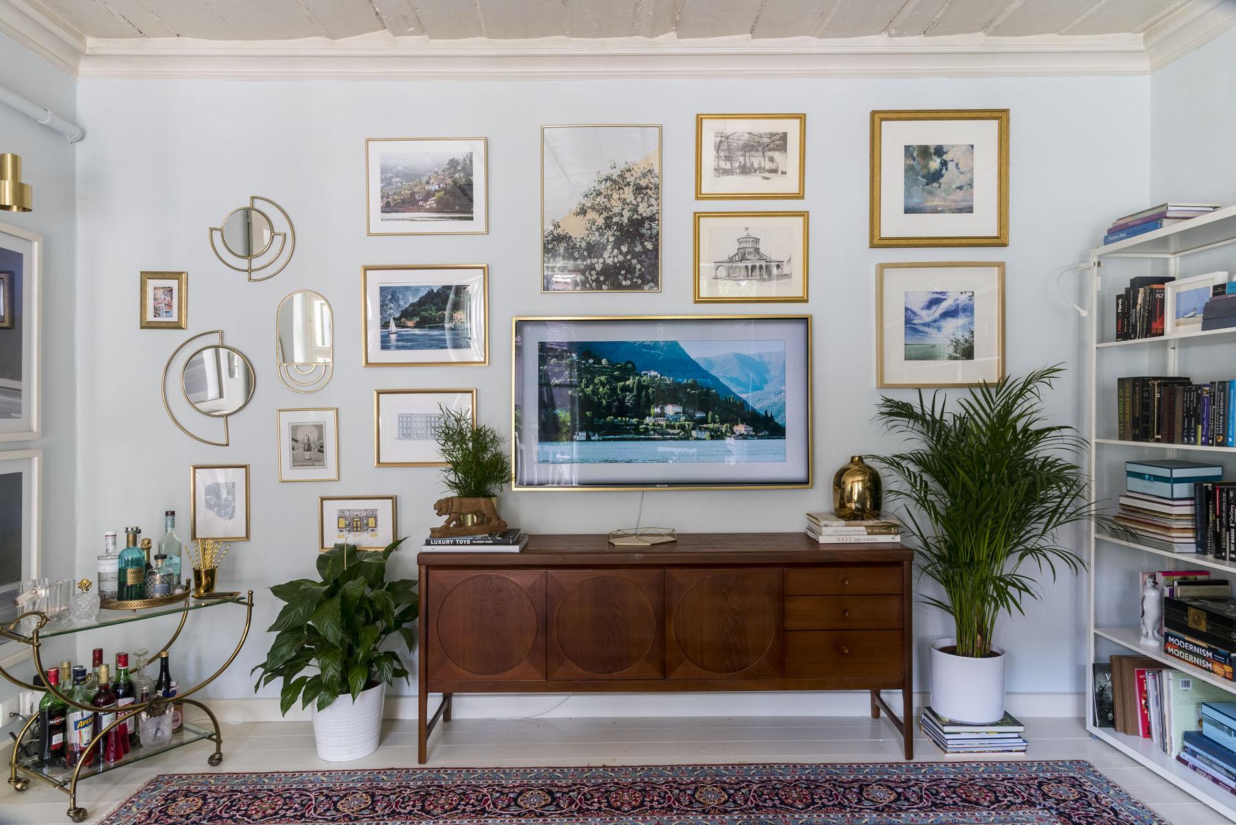 Modern-klasszikus eklektikus nappali / Kicsiház / Szentgyörgyi Kata