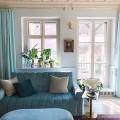 Függöny és karnis a nappaliba / Kicsiház