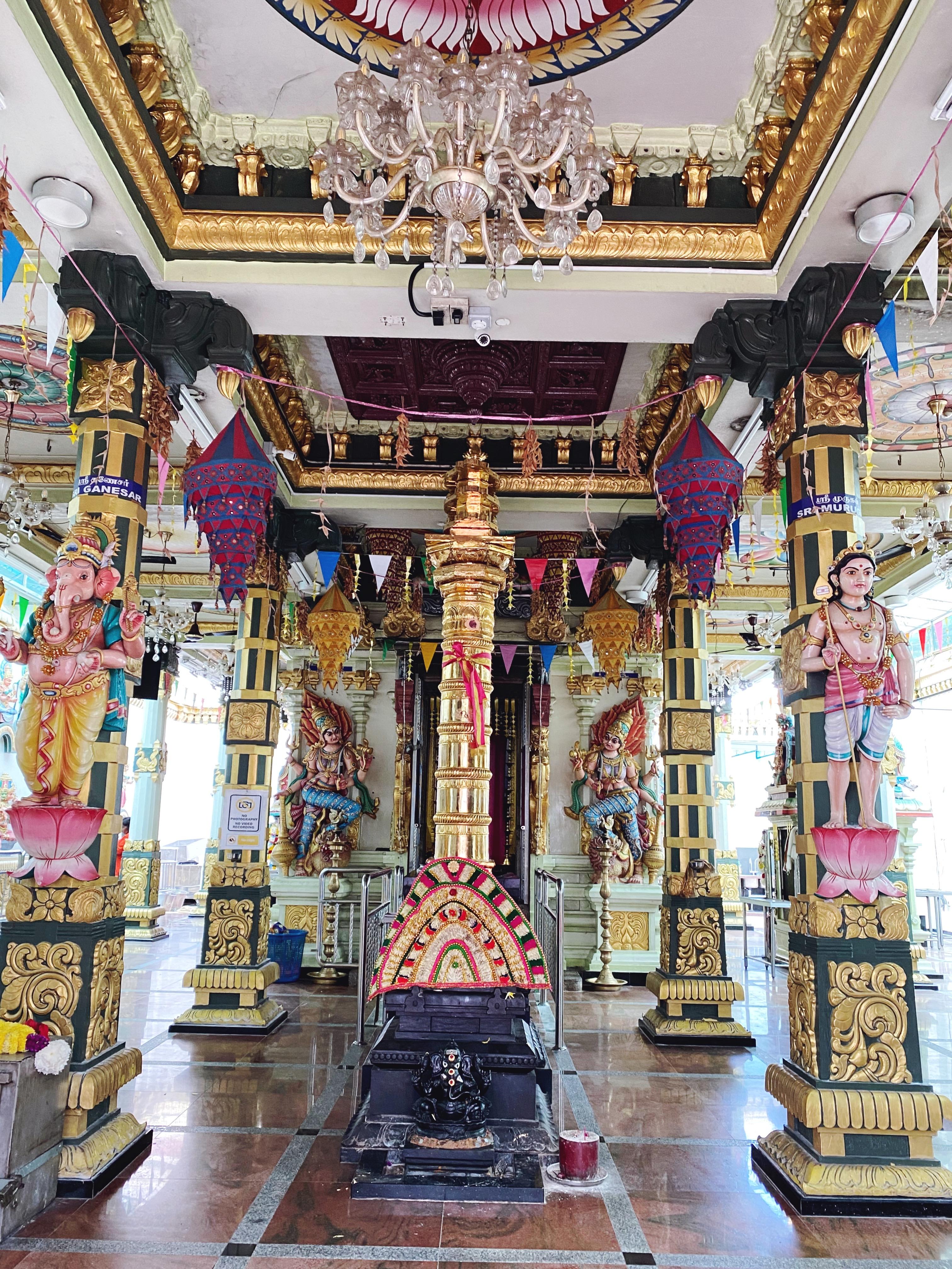 Hindu templom belölről
